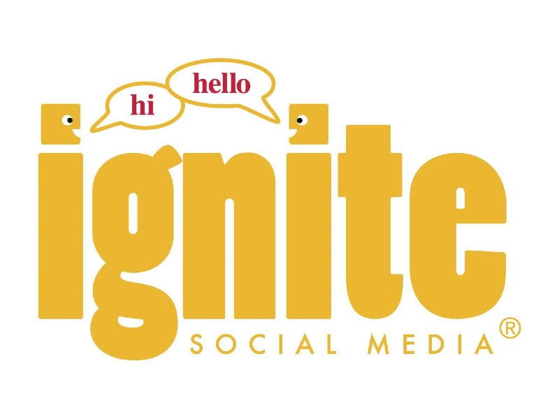 ignite social media logo